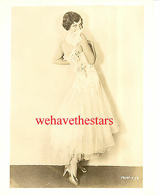 Vintage Joan Crawford EARLY 30s HOWARD GREER FASHION Publicity Portrait