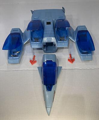Vintage 1987 Kenner Silverhawks Vehicles: Maraj Spaceship with Missiles COMPLETE