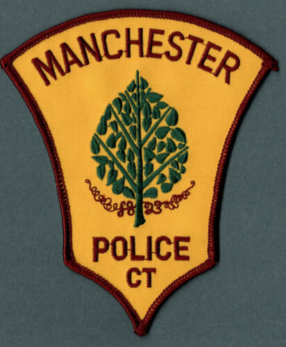Manchester Connecticut Police Patch V2