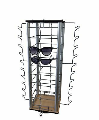 Eyewear Counter Display Spinner W Mirrors 40-pair Sunglass Reading Glass Retail