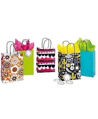 Case of 245 - Assorted Petite Holiday Gift Bags - 8.5