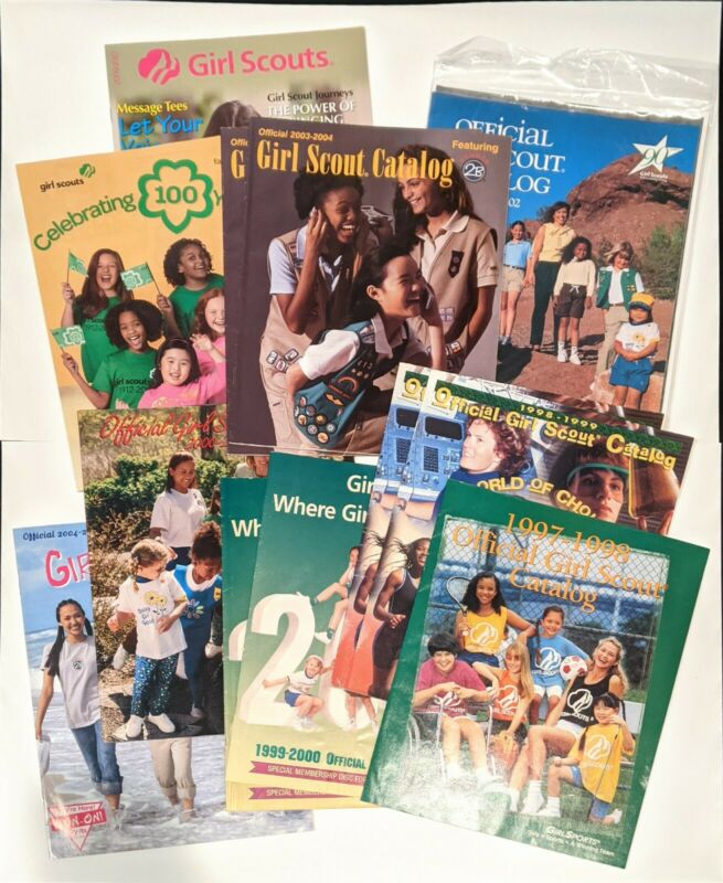 1990s/2000s Girl Scout Catalogs: 100th Anniversary, Uniforms, Badges, Gifts