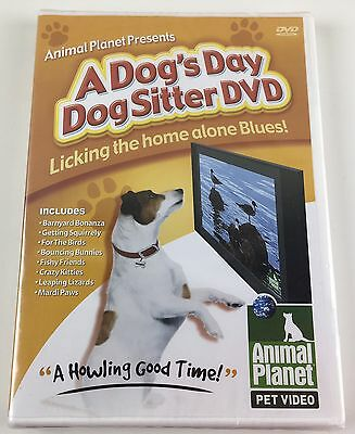 Animal Planet A Dog's Day DogSitter Pet Video DVD Licking The Home Alone Blues