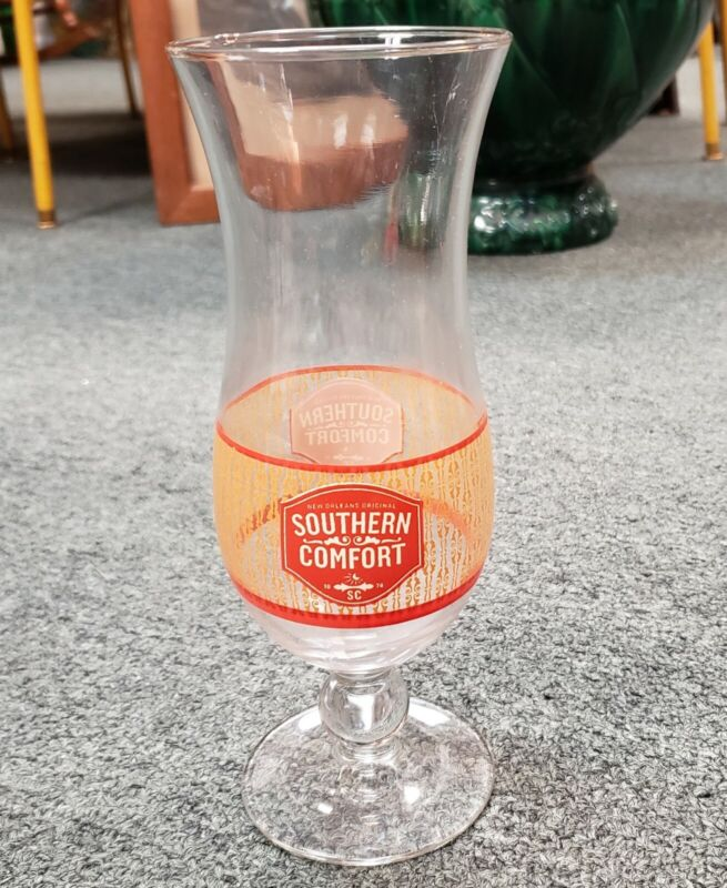 Vintage Southern Comfort Whiskey Hurricane Glass