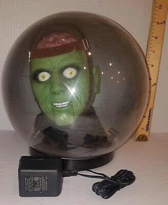 Gemmy Monster Spirit Ball Animated Head Talking Halloween