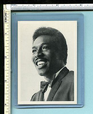 WILSON PICKETT 1986 Music Nostalgia Trading Card; EX/NM; htf; Midnight Hour