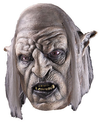 Orc Overseer Full Over The Head Latex Mask The Lord Of The Rings Movie Halloween](The Movie Halloween Full Movie)