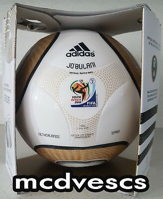 Adidas Jabulani Jobulani Final Official Math Ball 2010 for sale  Shipping to Canada