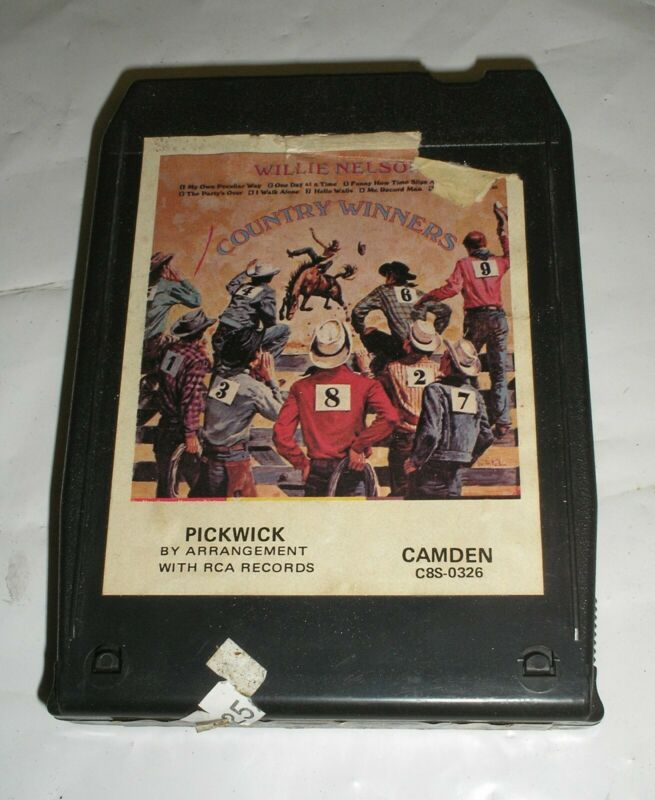 Willie Nelson - Country Winners - 8 Eight Track Tape