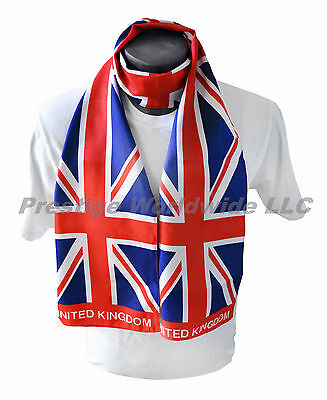 b3ad1690f30 Union Jack Print Scarf  NEW  One-Size-Fits-All  FREE S H  British Flag  World Cup