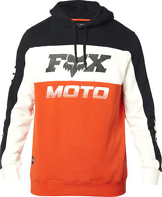 Fox Racing Charger Mens Pullover Hoody Black/Orange XL