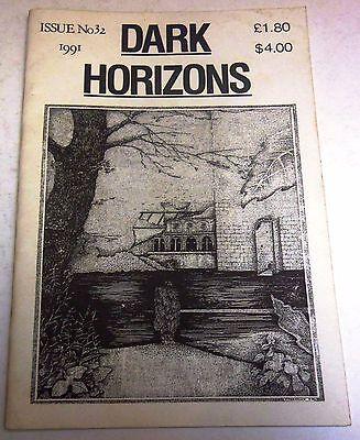 Dark Horizons #32 – UK small press fantasy/horror magazine – 1991 - BFS