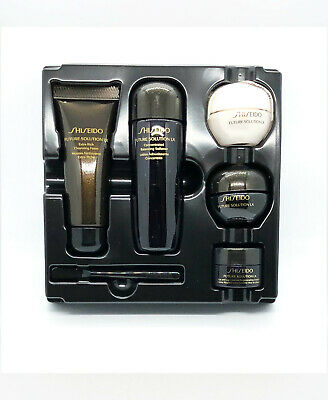 Shiseido Future Solution LX 5pc Travel Set Cleansing, Softener, Day & Night, Eye