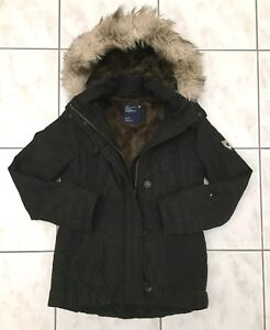AMERICAN EAGLE OUTFITTERS Military Hooded Parka (Gently Used)
