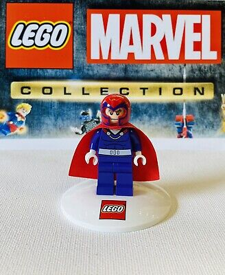 Lego Marvel Magneto Sh119 Purple Outfit From Xmen Vs The Sentinel Set 76022