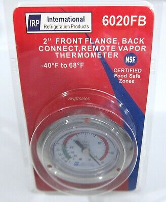 Irp 6020fb Recessed Flange Mount Refrigerator Freezer Remote Sensor Thermometer