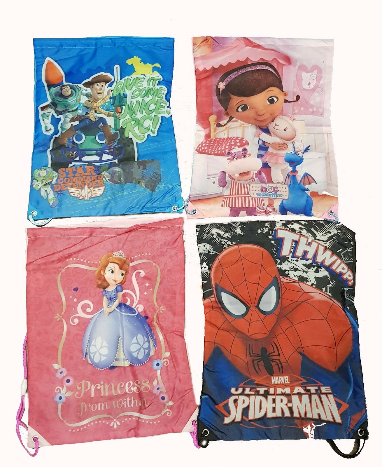 Gym Pe Trainer Shoe Bag Spiderman Dora