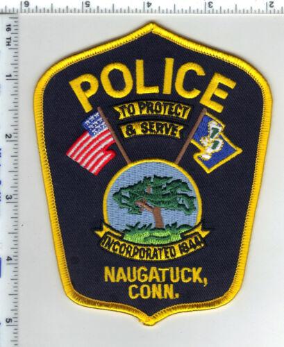 Naugatuck Police (Connecticut) Shoulder Patch