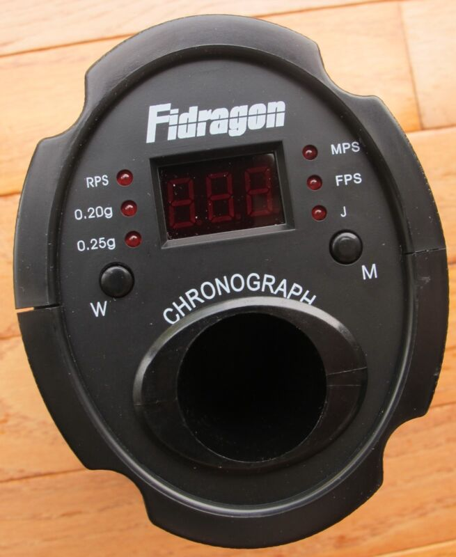 Airsoft Shooting Chronograph for Measuring BB Traveling Velocity
