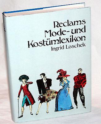 RECLAMS MODE- und KOSTÜMLEXIKON - Ingrid - Literatur Kostüm