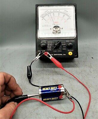 Vintage Rca Institutes Meter Assembly Kit Volt Ohm Meter