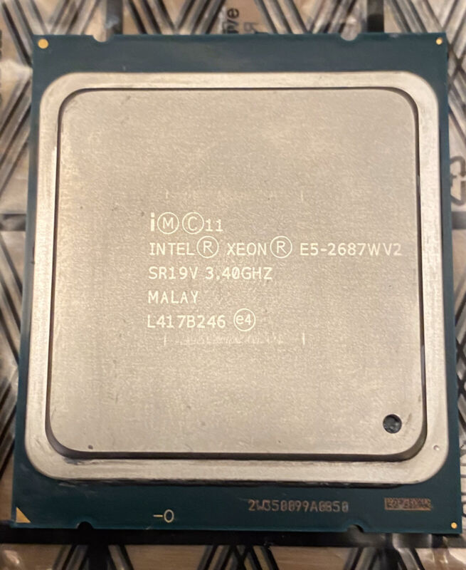 Intel Xeon E5-2687W v2 SR19V 3.40GHz 25MB 8-Core LGA2011 CPU Processor