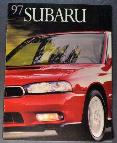 1997 Subaru Brochure Legacy Outback Impreza SVX Excellent Orig French Canadian