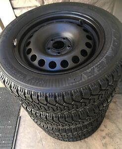 215/60R16 GY Nordics on 7Jx16 -5x100