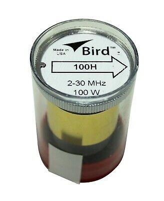 Bird 43 Wattmeter Element 100H 2-30 MHz 100 Watts - New