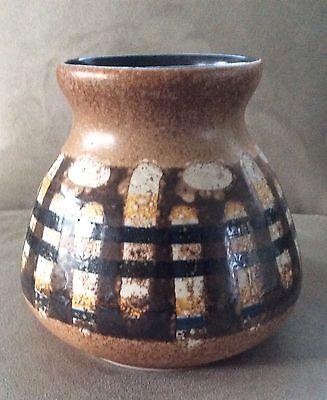 Handcrafted Ceramic Studio Art Vase LAPID POTTERY WORKS Tel Avid, Israel, usado segunda mano  Embacar hacia Mexico