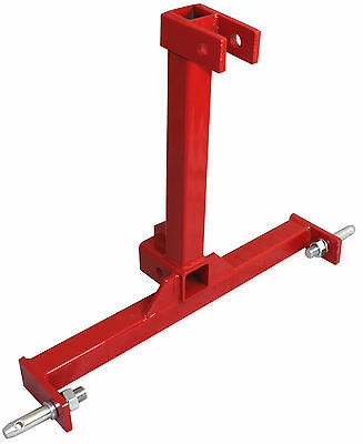 3 Point Trailer Hitch Category 1 Tractor Tow Hitch Drawbar Adapter 2 Receiver