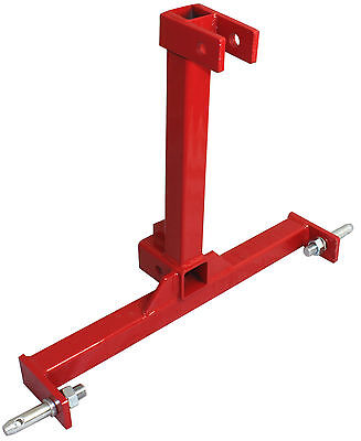 - 3 Point Trailer Hitch Category 1 Tractor Tow Hitch Drawbar Adapter 2