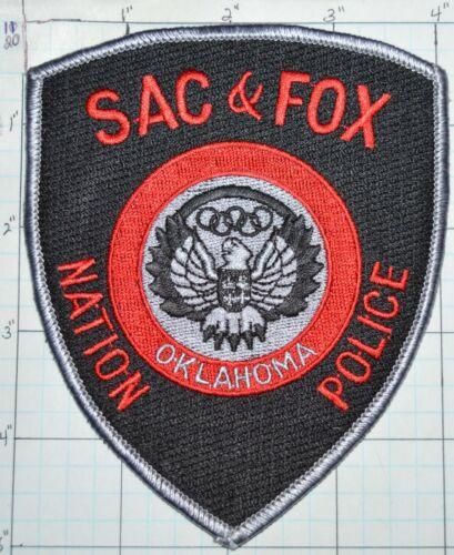 OKLAHOMA, SAC & FOX NATION TRIBAL POLICE PATCH