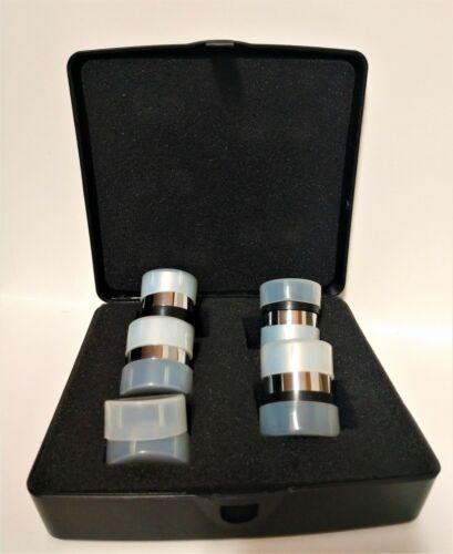 5 Celestron Telescope Eye Piece Set (5) qty Telescope Eye Lens  Set w/ Hard Case