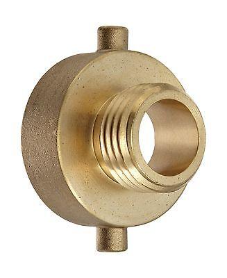 Moon 369-1521021 Brass Fire Hose Adapter Pin Lug 1-12 Nh Fema... Free Shipping