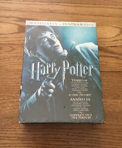Harry Potter DVDs 1-6, widescreen panoramique NEUF NEW