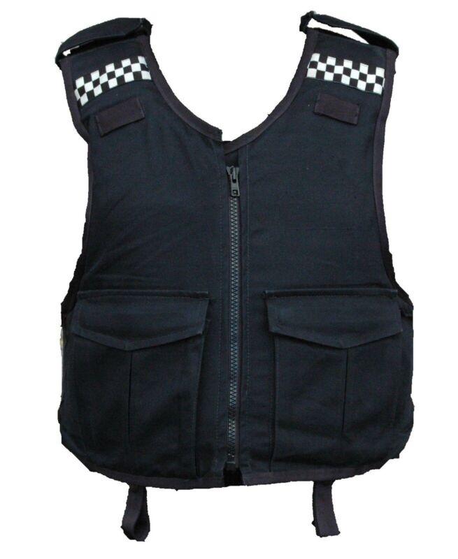 Meggitt Black Overt Body Armour Stab Vest *COVER ONLY* Grade A MC03A