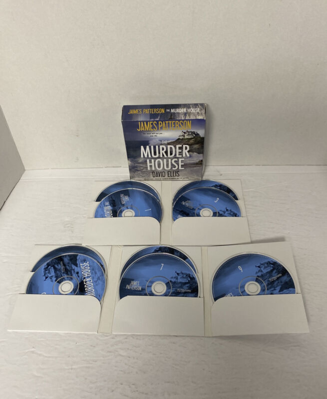 The Murder House by David Ellis and James Patterson CD AUDIOBOOK  UNABRIDGED