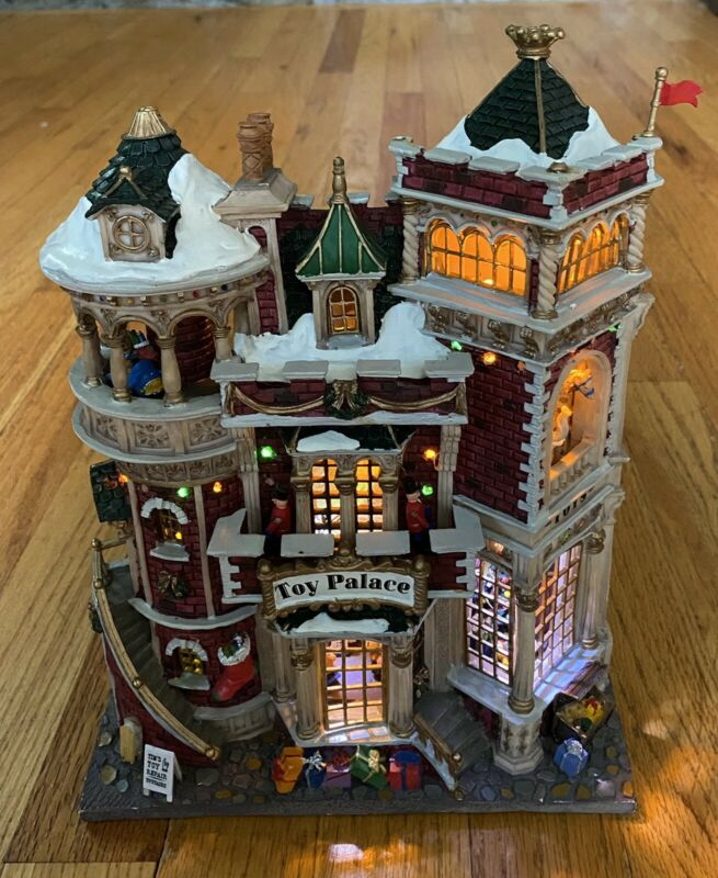 Lemax Village Collection Toy Palace #46093 As Is EB482
