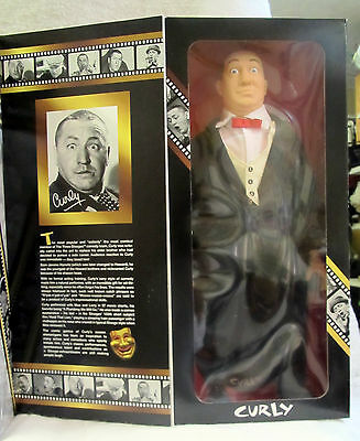 1997 Three Stooges Collector Edition Doll Curly Mint
