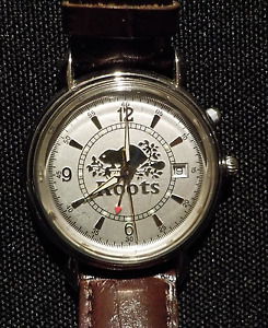 Collector's Edition ROOTS Wristwatch, leather band