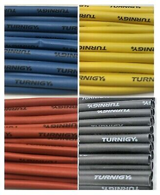 200 Pcs 4mm Turnigy Heat Shrink Wire Wrap Tubes Blue Yellow Red Black