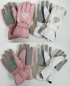 Womens-Ski-Gloves-Snow-Winter-Insulated-Waterproof-Warm-One-Size-Fits-Most-New