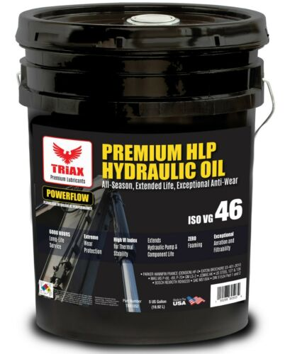 TRIAX POWERFLOW™ AW 46 6000 Hr Hydraulic Oil | Double Anti-Wear | - 46 F Flow