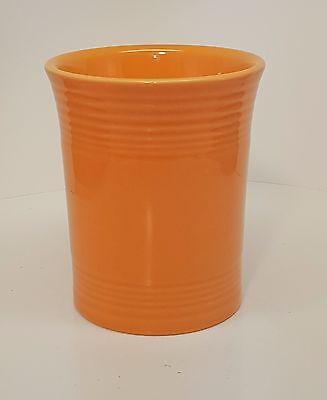 Fiestaware Tangerine Utensil Crock or Holder Fiesta Orange Kitchen Crock