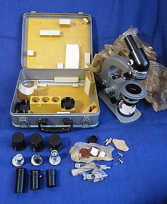 Polarising Pol Portable Field Microscope Mpd-1 Lomo Zeiss Petrographic Geology.