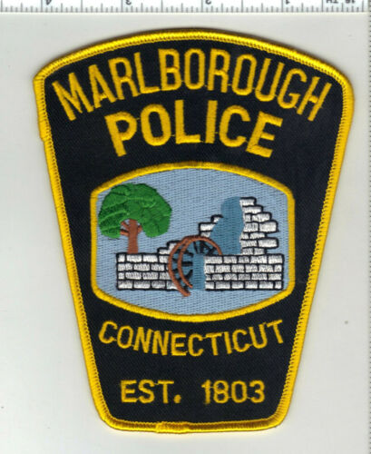 Marlborough Police (Connecticut) 1st Issue Shoulder Patch
