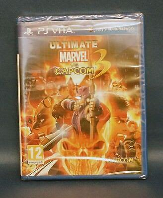 Ultimate Marvel vs. Capcom 3 - PlayStation PSVita Vita - New & Sealed