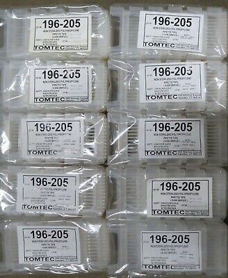 4800 Tomtec Quadra Formatter Pp Pipette Tips 450ul Pipet 196-205 50 Racks 96