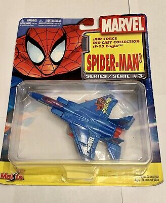 Maisto Spider-Man Marvel Air Force Die-cast F-15 Eagle 2004 Series 3